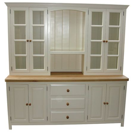 130 best images about hutch on pinterest inset cabinets for Oak kitchen larder units