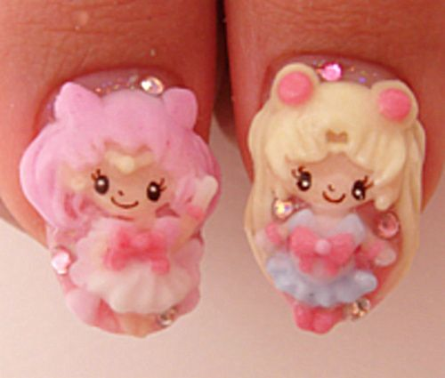 Sailor Moon & Chibi Moon