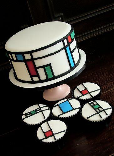 art deco single tier cakes - Google Search