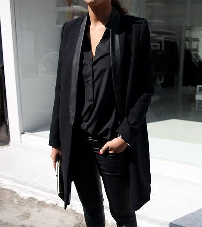 black on black #style #fashion