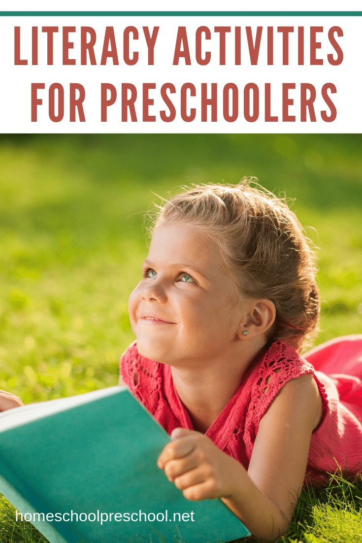 Teach Reading with Literacy Activities for Preschoolers