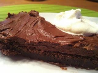 Kladdis med chokladfrosting