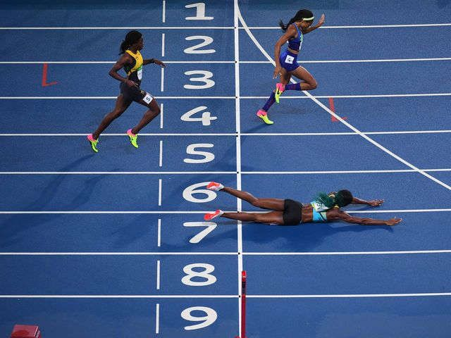 Shaunae Miller's unorthodox dive is an Olympic moment to remember