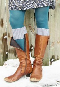 sweater cuffs for boots