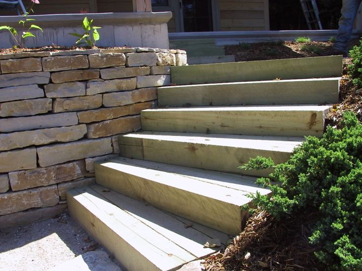 Best 26 Best Timber Stairs Images On Pinterest Landscape 400 x 300