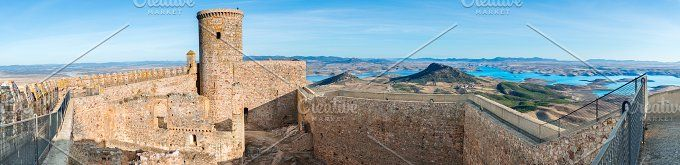 Castle of Alcocer by Fotoeventis on @creativemarket