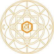 Mandala de Chakra Svadhishthana Dibujo para colorear