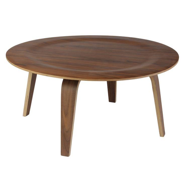 Replica Eames Coffee Table Wood (CTW) by Charles and Ray Eames - Matt Blatt