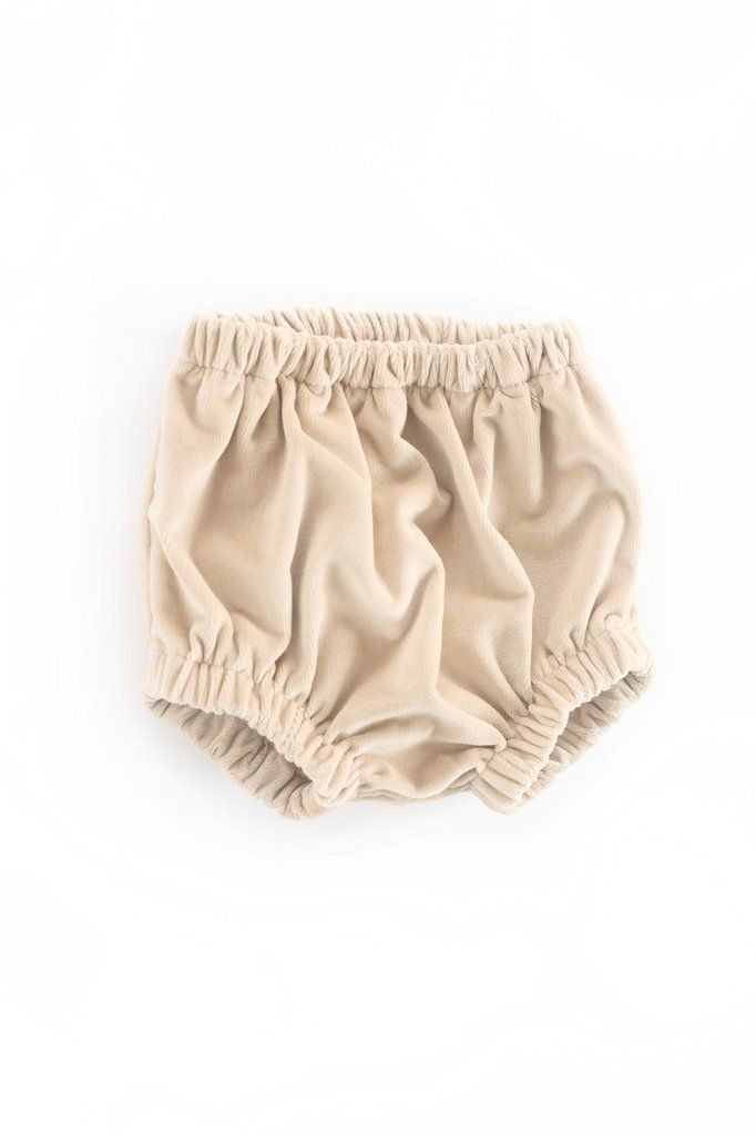 Cannes Knickers in Apricot Velvet: Pre-order