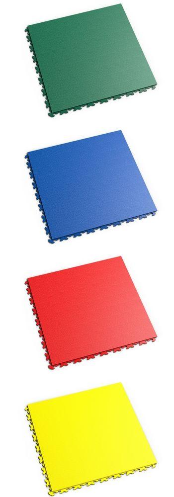 Nouvelle dalle Fortelock à joints dissimulés | Disponible en vert, bleu, rouge et jaune - BRICOFLOR