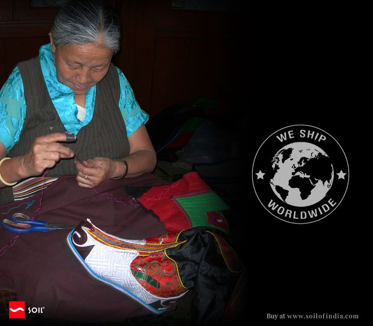 #SoilofIndia We Ship Worldwide.Free shipping on all orders above USD 199  lost inheritance : one of the last artisans to make these #traditional lama #boots   http://soilofindia.com/haute-tibetan-boots-reson-lama-boots.html