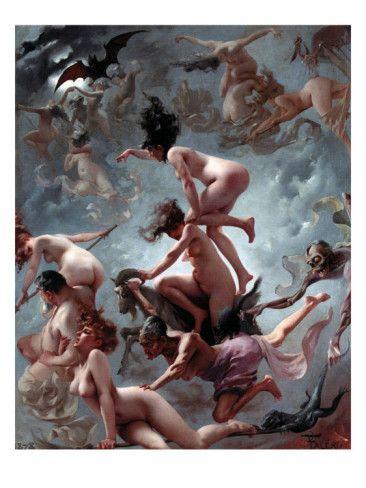 Faust's Vision by Luis Ricardo Falero » Imgday.com