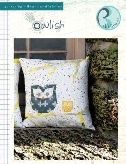 Owlish Pillow Free Sewing Pattern by Pat Bravo & 60 best Pillow Patterns images on Pinterest   Pillow patterns ... pillowsntoast.com