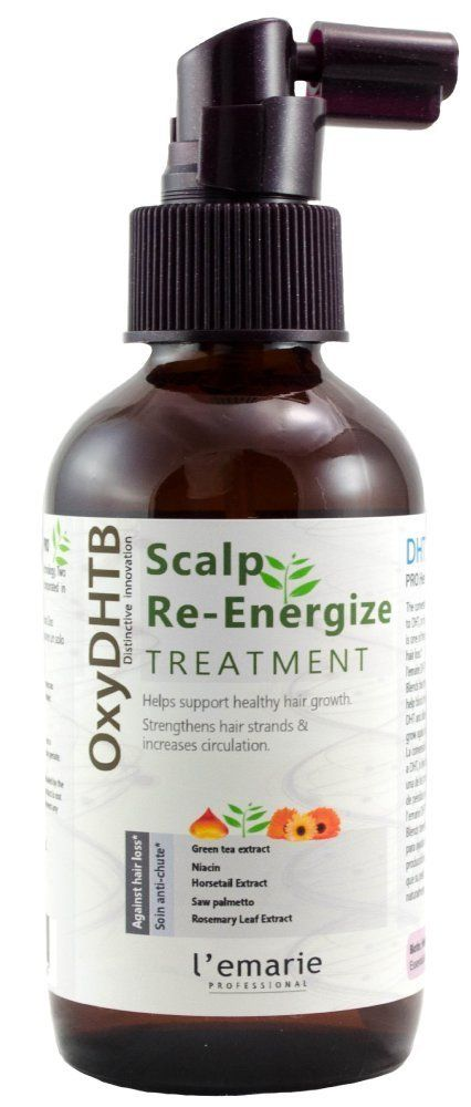 L'emarie Intensive Energizing Scalp and Hair Growth Treatment for Men and Women with Ketoconazole, 1% Minoxidil and Biotin (Spray Application)