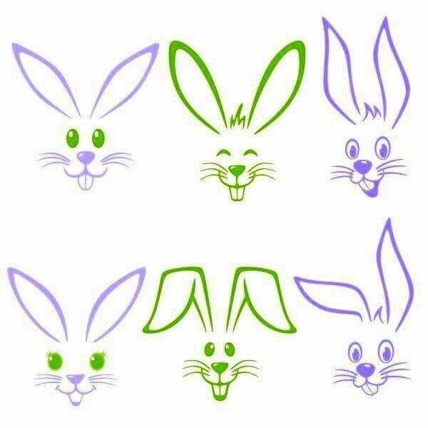 Pinterest Ostern Zeichnung Osterhase Zeichnen Osterhase Malen