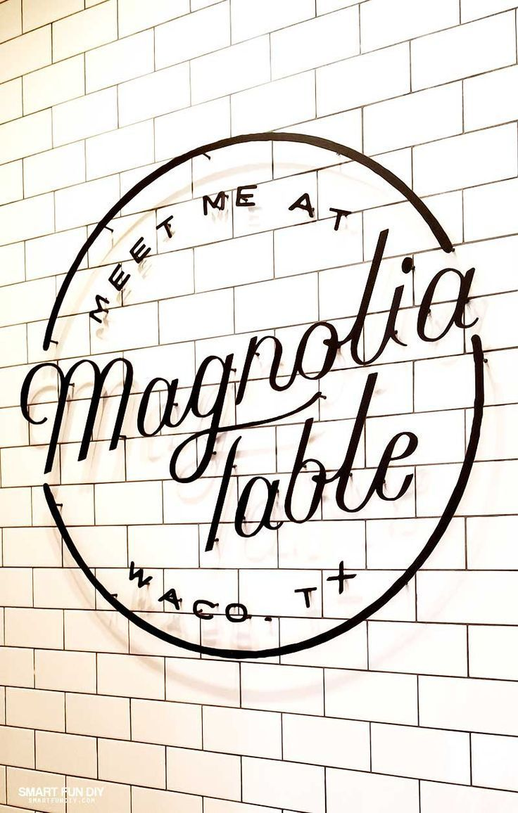Magnolia Table Tour We Went To The Grand Opening Magnolia