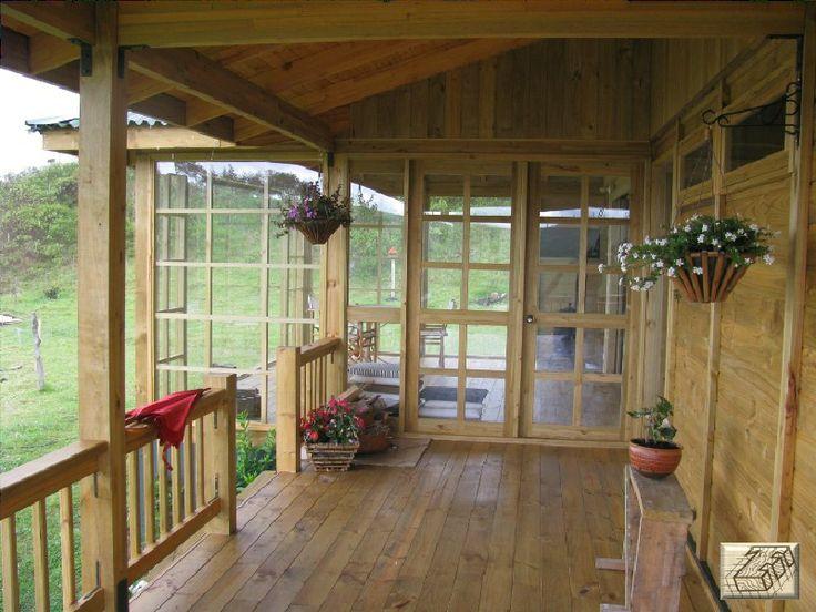 Corredor exterior TDE #woodarchitecture #wood #madera #casasenmadera #arquitecturaenmadera http://www.tallerdensamble.com