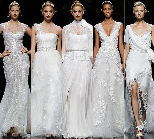 Pronovias 2013 Wedding Dresses: Sparkles, Florals and Sheer