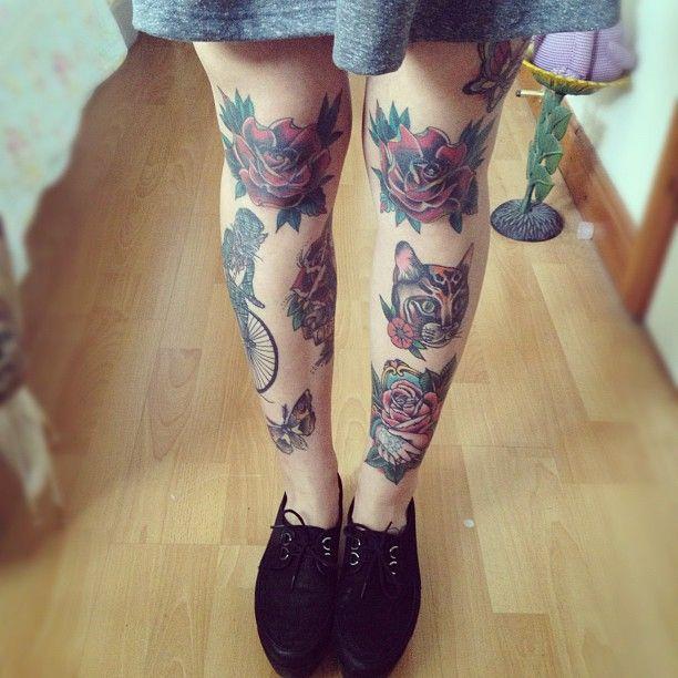 knee tattoos pessoas e tatoos pinterest leg tattoos ink and wicked. Black Bedroom Furniture Sets. Home Design Ideas