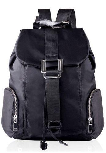 Mangoesteen 9001 Fashion Backpack - Hitam