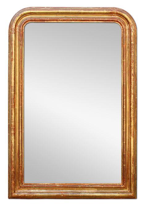 grand miroir ancien chemin e bois dor la feuille patin e grand miroir pinterest. Black Bedroom Furniture Sets. Home Design Ideas