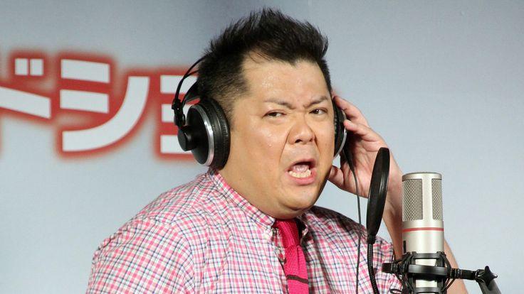 お笑いコンビ「ブラックマヨネーズ」の小杉竜一さんが11日、東京都内で行われた、日本語吹き替えを担当しているマーベル・コミックのヒーロー映画「アントマン」(ペイ...