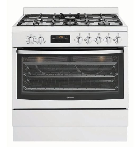 Westinghouse 90cm Stainless Dual Fuel Freestanding Cooker