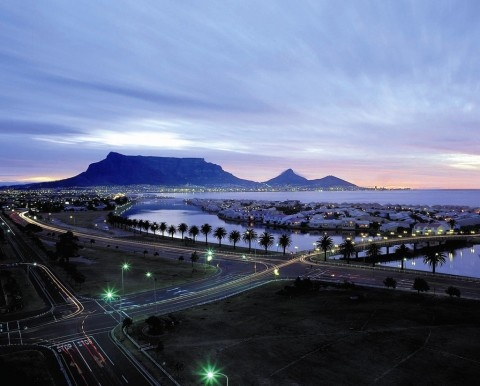 A perfect evening in Cape Town