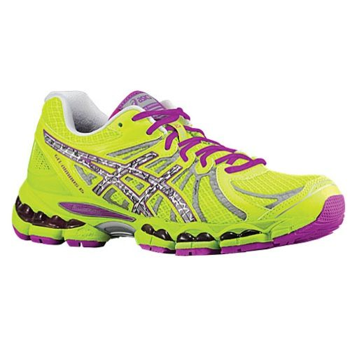 Asics Nimbus 15 Reflective Special Edition Running Shoes Womens NEW Yellow