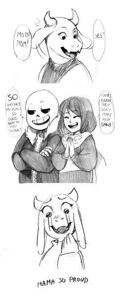 San and Frisk inspire me to make puns #undertale