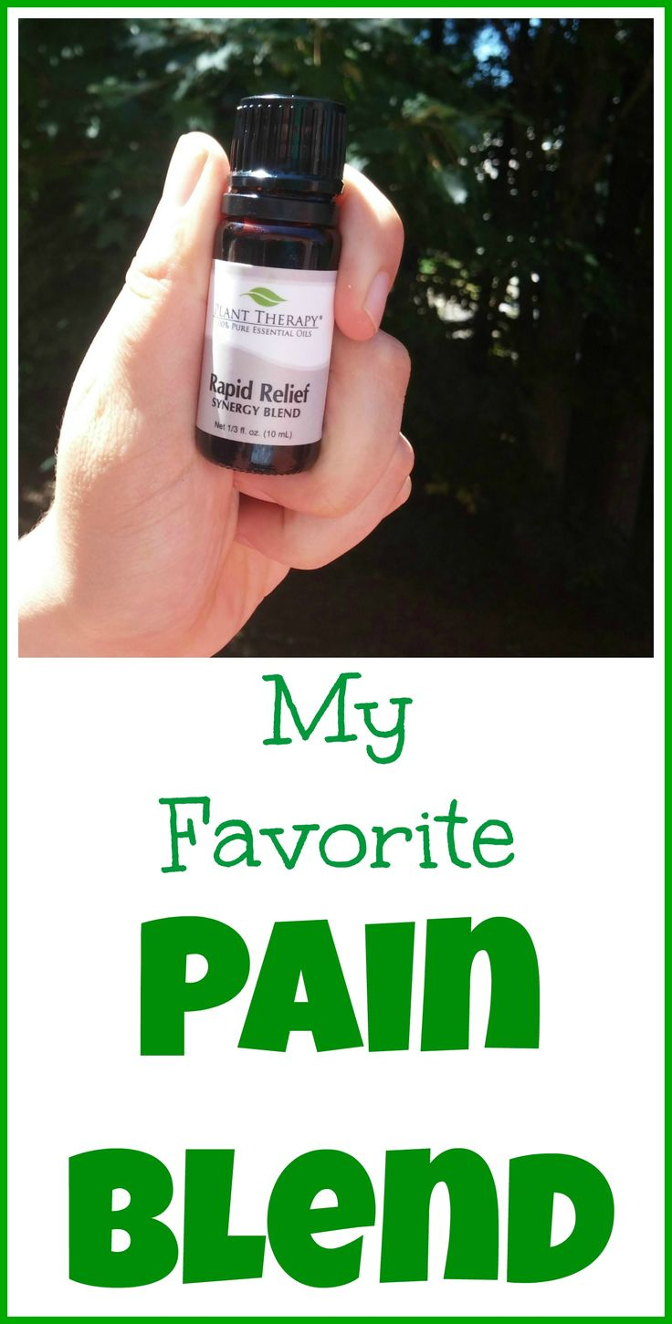This is my favorite essential oil pain blend. I use it along with a good diet, homeopathy and herbal anti-inflammatory medications to control my chronic nerve pain, without drugs.