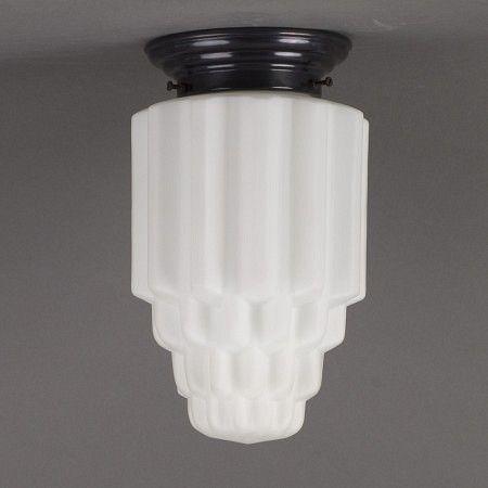 Plafonnière Slanke Deco Coupe. Verkrijgbaar bij artdecowebwinkel.com. - Ceiling Lamp Deco Coupe. Available at artdecowebstorecom. #artdeco