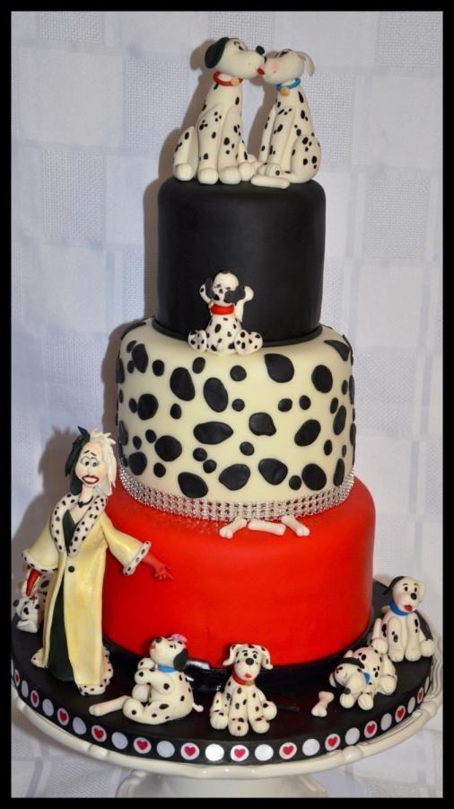 100 best 101 dalmatians cakes images on pinterest