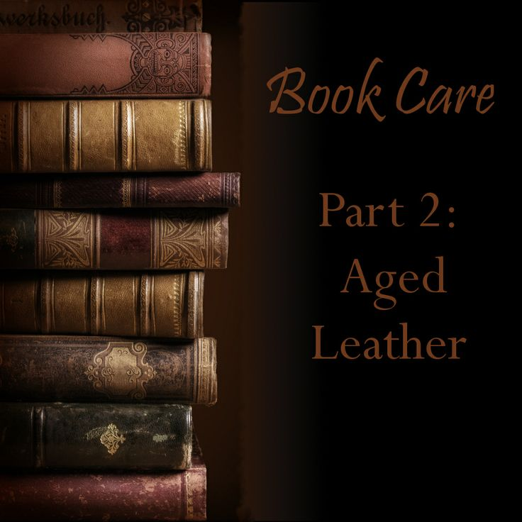 How to care for old leather Books
