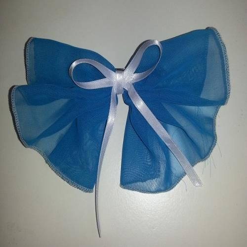 Mavi Fiyonk Toka - Bandana, Toka - Durbuldum.com - saç tokası