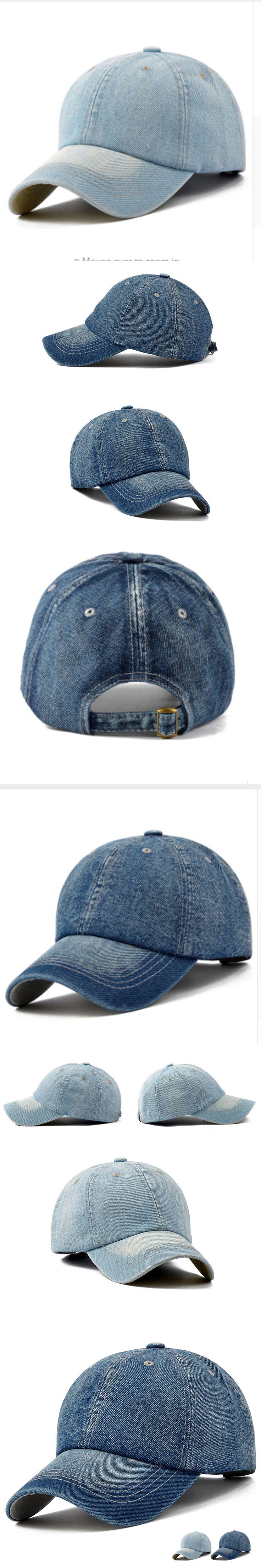 Jeans Denim Blank Gorras Casquette Plain 2017 Cap Hat Baseball Cap Men Women Snapback Caps Brand Golf Hats For Women Visor Bone