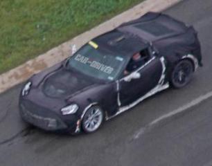 2016 Chevrolet Corvette Z07 Spied Testing