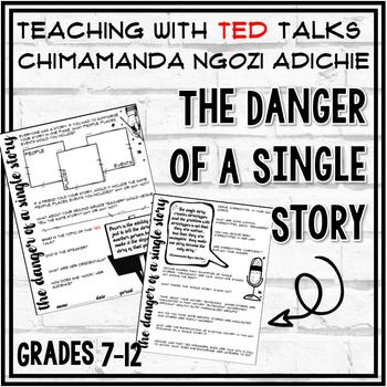 TED Talk Lesson (The Danger of a Single Story) by