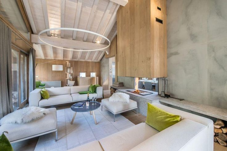 Living Room in Chalet Kibo by Angelique Buisson