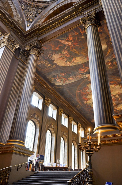 Painted Hall, Royal Naval College, Greenwhich, London