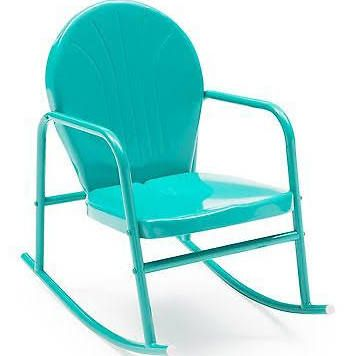 Vintage Metal Lawn Chair Rocker   Google Search