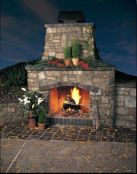 Eldorado stone imagine inspiration gallery for Eldorado outdoor fireplace
