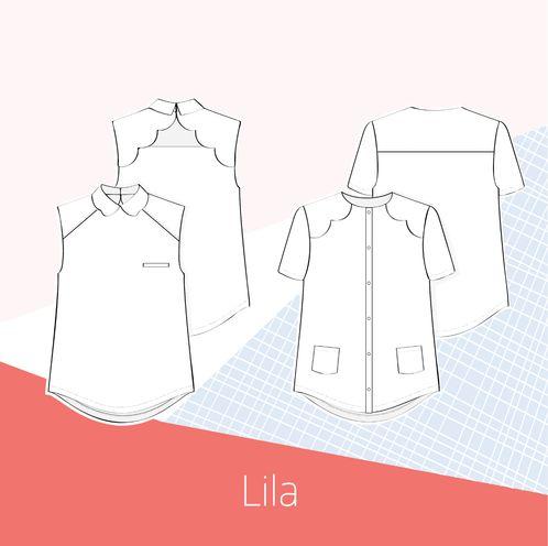 Lila blouse - Slow Sunday Paris