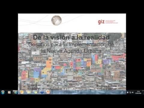 Webinar: De la visión a la realidad - Desafíos para la implementación de la NAU…