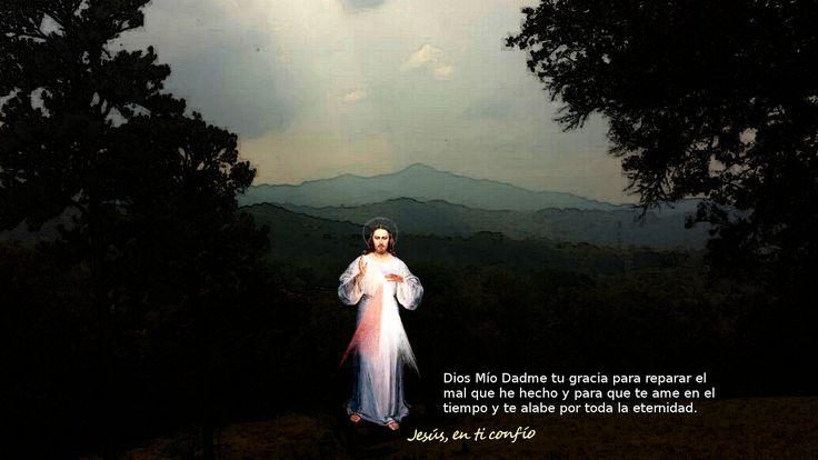 Divina Misericordia : oracion a los Pies de la misericordia Divina
