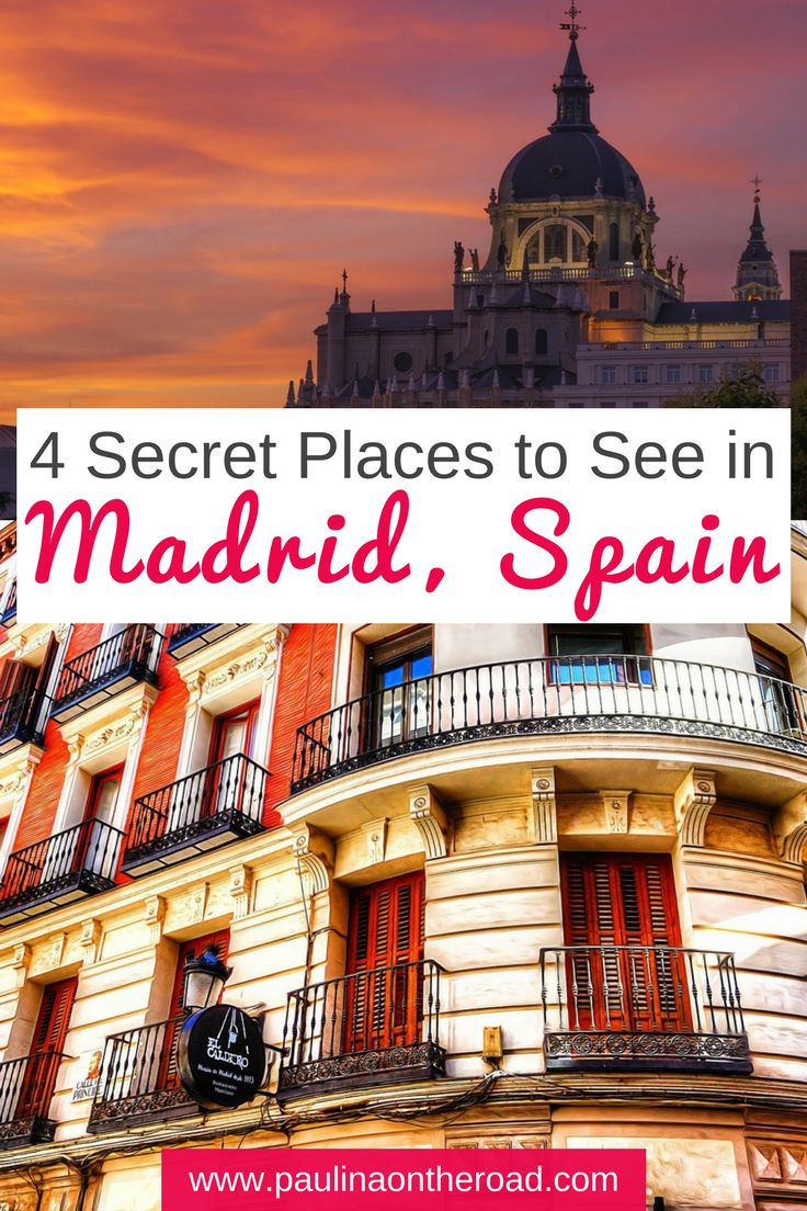Discover 7 less known highlights of Madrid. After living in the Spanish capital for almost 3 years, I got to see and taste much of it. I want to share with you some of its most hidden gems. #madrid #spain #ole #foodtour #hiddengems