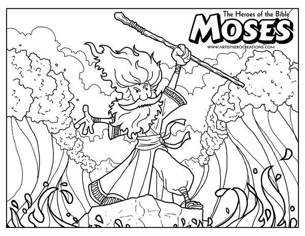 Bible Coloring Pages for Elementary