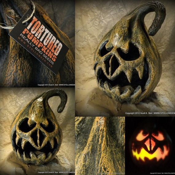 This Halloween you can be the house with the coolest pumpkins with this unique papier mache pumpkin from STOLLWEEN. Forget the mass produced Halloween decorations and add something original to your décor.