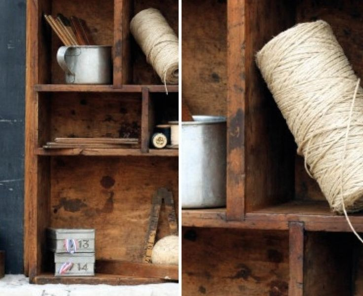 Open display shelving is the ideal storage solution for those bits and pieces you've collected over the years