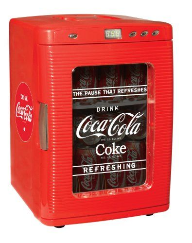 Koolatron KWC-25 Coca-Cola 28-Can-Capacity Portable Fridge with LED Display Coca-Cola http://www.amazon.com/dp/B000TDD5OG/ref=cm_sw_r_pi_dp_YbJQub0RN7YKR